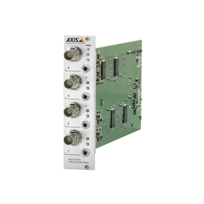 AXIS 12CH ENCODER BUNDLE (GEN) Video Netzwerk Server, 12 Kanäle,