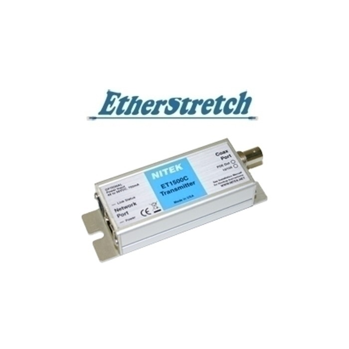 ET1500C Ethernet, PoE Extender, Koax, für Etherstretch Switches,