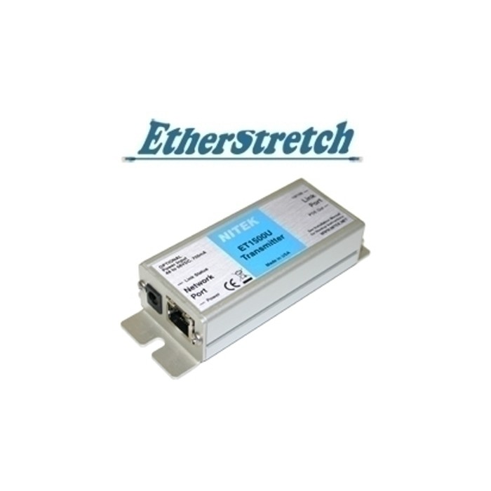 ET1500U Ethernet, PoE Extender, UTP, für Etherstretch Switches,