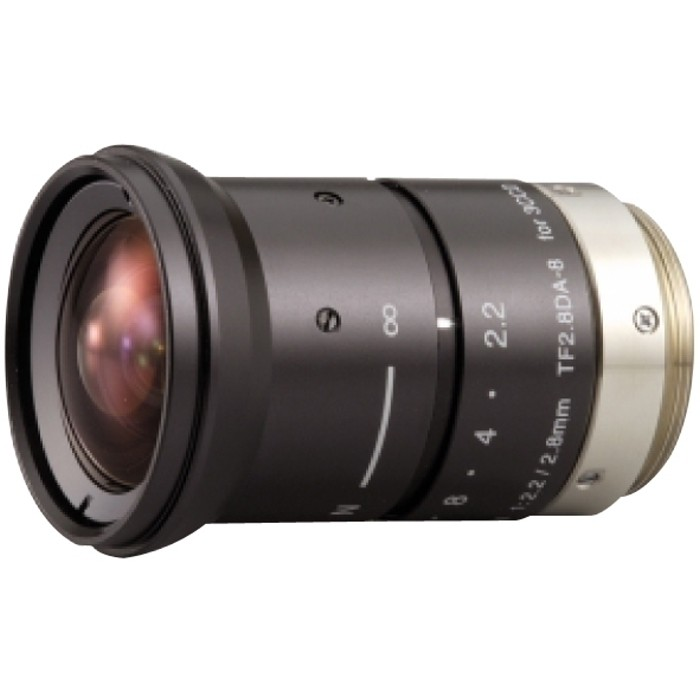 "TF2.8DA-8 F2,2/2,8mm Objektiv, 1/3"", Fixed Focal Length, 3CCD, m"