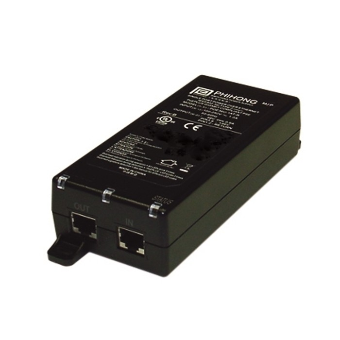 POE31U-1AT PoE+ Midspan, 1 Port, IEEE802.3at, 30W, 100-240VAC