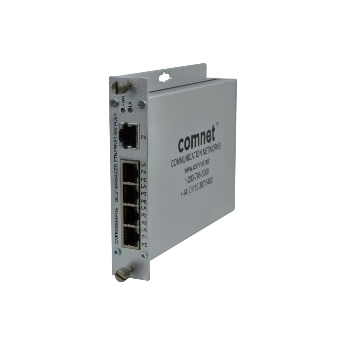 CNFE5SMSPOE Fast Ethernet Switch, Self Managed, 5xRJ45, PoE, 10/