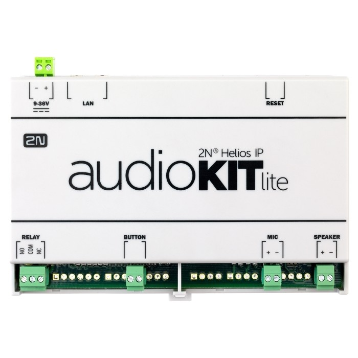 EntryCom IP Audio Kit lite Intercom Einbaukit, nur Audio, LAN, m